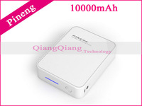 Best Quality ! Original Mobile Power Bank 10000mAh Pineng PN-918 External Battery Charger For Android Phone / White