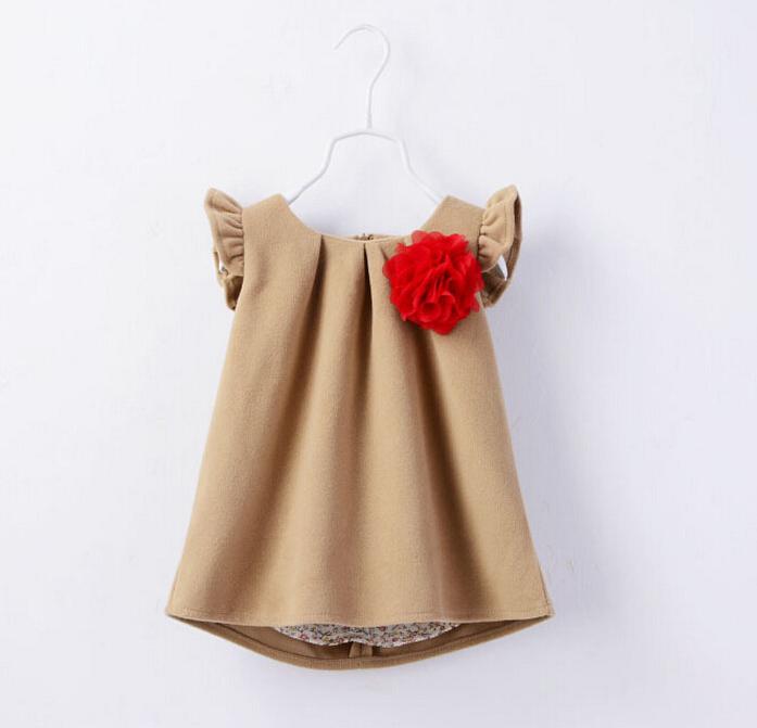 Детские шерстяные платья
