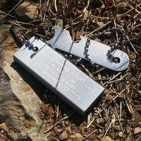 SURVIVE Survival Mg Magnesium Flint Fire Steel Starter Lighter Flint