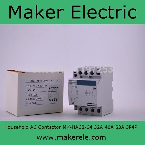 4 pole contactor mk hac8 63 63a 4p 4no 220v230v240v mrkioxcw 38 cheapraybanclubmaster Image collections