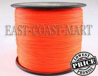 New arrival !! PE Dyneema Braided Fishing Line 4 strands Orange 1000M 15LB 0.16mm spectra braided fishing line # 1