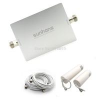 Direct Marketing sunhans 900/2100MHz 3G dual band signal amplifier with Fiberglass Antenna Free Shipping (SH-G900W2100-D2)