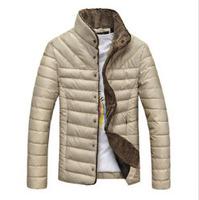 Men's cotton 2014 new men / coat / lamb wool cotton / factory outlets / Free Shipping