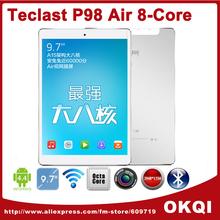 in Stock Teclast P98 Air A80T Octa Core Tablet PC 9.7inch IPS 2048x1536 Retina G+G Screen 2GB ROM 32GB ROM 13.0MP Camera(China (Mainland))