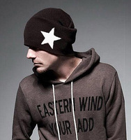 Promotion!!! 2014 Korean Style Brand New Wool Wnter Warm Star Beanie Hats Caps