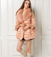 European Grand Prix 2013 winter women's models in Europe and America big fox fur collar long down jacket  NDZ149 Y9W