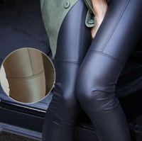 XL - S 4colors New 2014 fashion Faux Leather Leggings for women Lady leggins pants New sexy Fashion 2014 wholesale free shipping