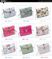 2014 New Summer Women's Shoulder Bags Leather Handbags Vintage Designer mini lady Crossbody Bag High Quality Wallets Women totes