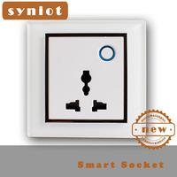 Syniot Modern Power socket, Wall Socket, 86 Style wireless remote control  socket, Schdule Edite, App Control ,Free Shipping