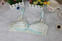 Maternity Underwear Pregnant Women's Little Apple Floral Nursing Bra B332