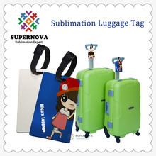 Sublimation Custom Luggage Tag ,Personalized Luggage Tag(China (Mainland))