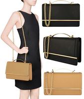 AC158 Modern Fashion classic solid PU women shoulber bag sling bag messenger bags cross body