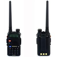 2 PCS Baofeng UV5R Radio Walkie Talkie Pofung UV-5R 5W FM Radio 128CH VHF + UHF VOX Dual Band Two Way Radio A7108A Free earpiece