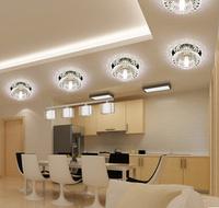 3W Modern Crystal Chandelier LED Light & Lighting G4 Bulb Living Room Lamps Luminaria AC220V 230V 240V Abajur