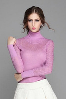 2014 new autunm Women's Long Warm Turtleneck Sweaters And Pullovers Long Sleeve Knitted For Lady,Sueter,blusas de trico