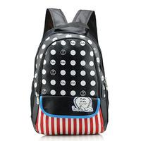 Ms. Hedy  double canvas backpack schoolbag Table PC school students school bag waterproof backpack