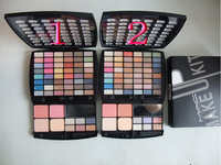 new popular!high quality brand makeup kit 54 colors eye shadow+2 colors blusher+1color powder  free shipping