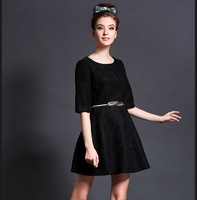 M32905 free shipping high end new design 100% authentic 6XL Autumn woman clothes