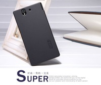 Special offer! For SONY Xperia Z C6602, C6603 L36I, L36H, LTE Simplicity series leather Case flip Cover, & super frosted shield