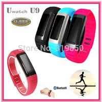 2014 U Watch U9 U-See Smart Bluetooth Watch SmartWatch Wrist Pedometer Hotspots For iPhone Android Samsung