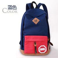The New Middle School Backpack Shoulder Bag  Canvas Bag Casual Bag 1B026