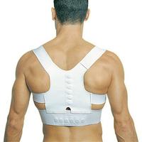 Hot 1Pcs Adjustable Unisex Magnetic Posture Support Corrector Elastic Back Shoulder Posture Care Corrector Belt L/XL EJ871349