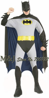 Free shipping!!Bargain!!Adult men batman costumes Halloween dress party serving Halloween carnival clothes party costumes