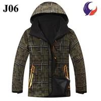 2014 New design best quality windstopper outdoor waterproof softshell jacket with hood J06