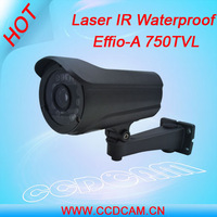 EC-W75J2 750TVL 100M laser IR military standard night vision security waterproof camera