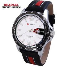 NEW ARRIVAL Curren men Wrist Watch Fashion Casual Watch Quartz Watch Sport Watch PU Leather FREE SHIPPING