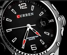Curren Watches Men Wristwatch Fashion Casual Quartz Watch g Relogio Relojes 2015 Hot Sports Watches Wholesale