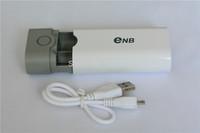 100pcs 2014  Enb *18650 battery Box Shell SMART POWER Case for iPhone5/4S Samsung Nokia Blackberry/MP3/4 flashlight FreeShipping
