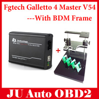 DHL Free! 2014 New V54 FGTech Galletto 4 Master BDM-OBD Function + BDM FRAME With Adapters Set Fit For BDM100 programmer/ CMD