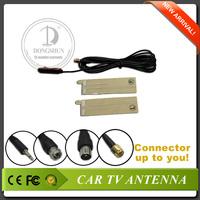 3.5mm ear phone jack Digital car TV/Radio antenna built-in amplifier with 4 jacks optional