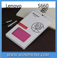 wholesale Free Shipping Original Lenovo P780 case Leather Case,In Stock Lenovo P780 Case