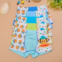 3-16 Years panty boy baby milk silk boxer briefs underwear wholesale children's panties roupa infantil feminina students