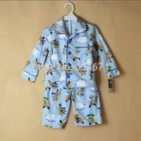 2014 New Carter's Kids Pajamas Sets Winter Autumn Boys Clothing Sets Christmas Dress Long-Sleeve Pajamas Free Shipping