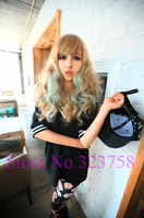 Free Shipping New Fashion Corn Hot Medium Curly Cosplay wig Heat Resistant Synthetic Lady Halloween Party Sexy Wigs