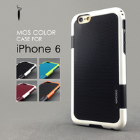 Brand New Color Mashup Silicone Cover Case for Apple iPhone 6 4.7 inch Unique phone case GODOSMITH Mos Color Original