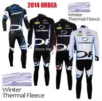 2014 ORBEA Bike MTB Winter Thermal Fleece Cycling Long Jersey + bicicleta bib Pants Ropa Ciclismo Clothing Many kinds of choice!