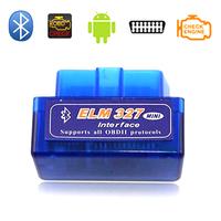 Code reader Super mini ELM327 Bluetooth odb2 Scanner ELM 327 Bluetooth Smart Car Diagnostic interface ELM 327 V2.1 Scan