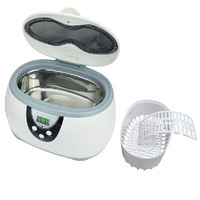 Mini digital watch ultrasonic cleaner, cute gift for Christmas