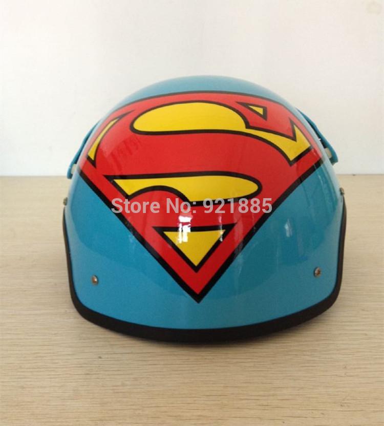 Superman Motorcycle Helmet Motorcycle Helmet Cool Air