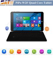 8 inch PiPo W2F Win8 Tablet PC Intel Z3735F Quad Core windows 8 2GB 32GB Dual Cameras 2.0MP 5.0MP IPS PIPO W2 tablets