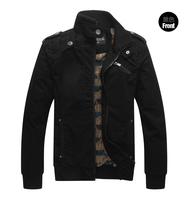 High Quality Men's Jackets man cotton washing coat collar male money Fashion leisure jacket  NO.JK119