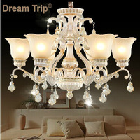 sculpture Resin Chandelier and Pendants Living Room Candle Lamps Lighting luxury Bed room Crystal Chandelier