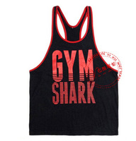 New Gorilla Wear Classic Tank Top Men's Muscle Gym Tank Tops for Fitness & Bodybuilding 100% cotton Loose Training Suit