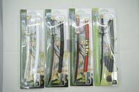 One piece zoro swords key chain OP10 zoro 4 swords 20cm sword
