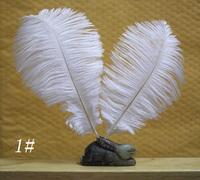 100pcs/lot 15-20cm / 6-8'' white color ostrich plumage feathers for wedding party table decoration centerpieces bulk sale