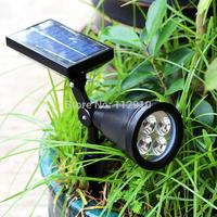 Outdoor Garden  solar lamp  Streetlight    Solar Spot  streetlight  Lamp Lawn inserted courtyard garden lights